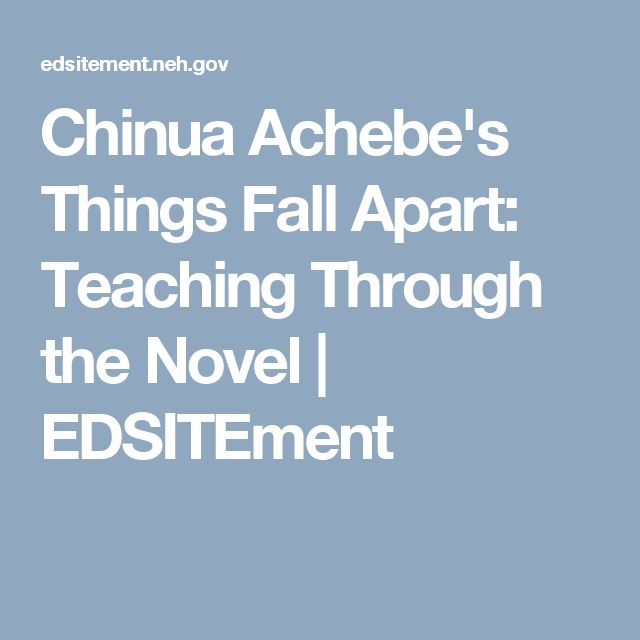 Things Fall Apart Missionaries Quotes: Best 25+ Things Fall Apart Ideas On Pinterest