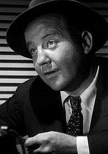 """Broderick Crawford, film, stage, radio and TV actor; series """"Highway Patrol"""" 1955-1959."""