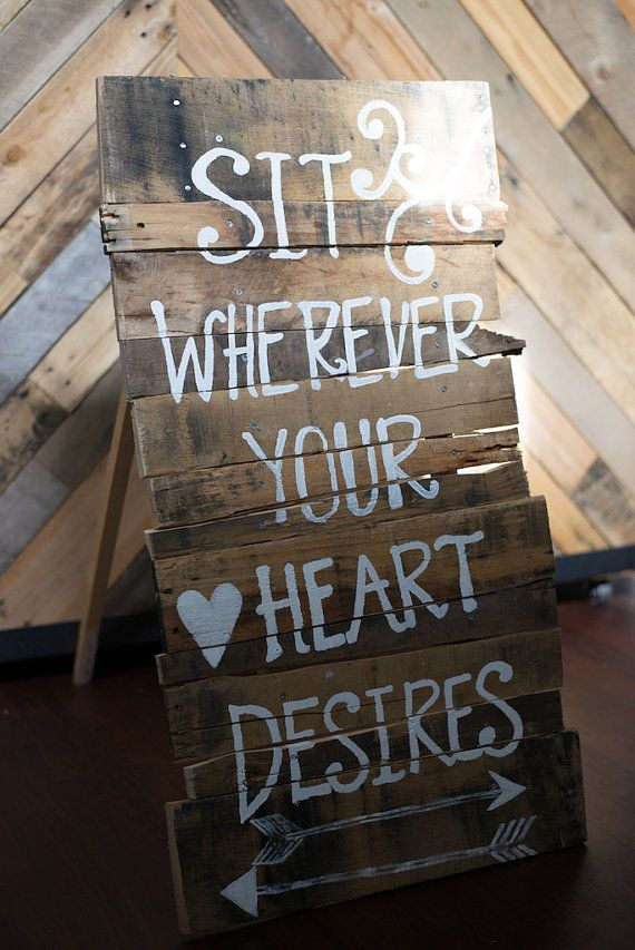 395 best wedding ideas maybe some day images on pinterest custom wooden rustic wedding seating sign by gandyshop on etsy solutioingenieria Image collections