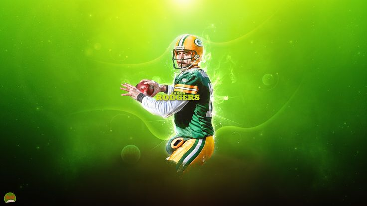 For Green Bay Packers Aaron Rodgers Wallpaper Green Bay Packers ...
