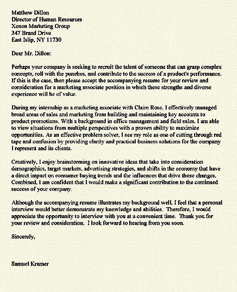 40 best Cover Letter Examples images on Pinterest Decoration - internship proposal example