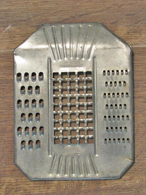 antique grater