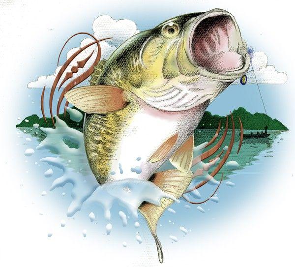 Gone Fishing Clip Art   Mark Combs: Bass Fishing