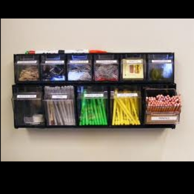 Best 25 Organize Office Supplies Ideas On Pinterest