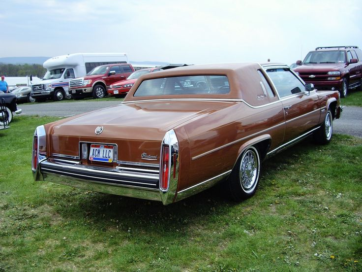 1984 Cadillac Fleetwood Brougham Coupe 1980 39 S General