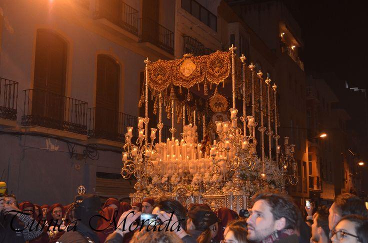 Mª Stma. de la O, Lunes Santo 2016, Málaga