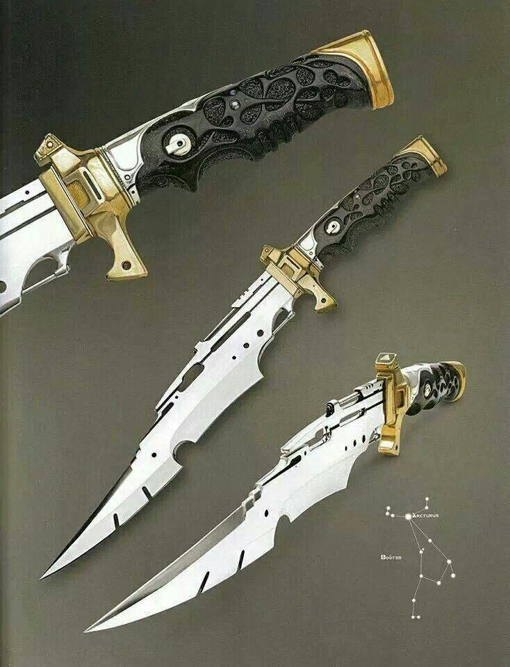 Steampunck Knife