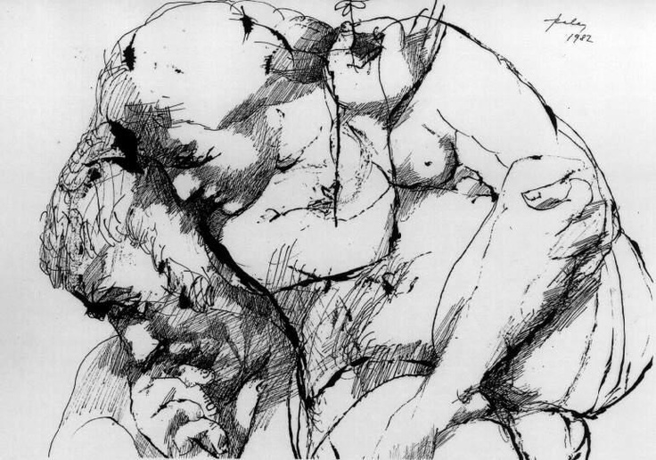 Szalay, Lajos - Inspiration - Other/Unknown art movement - Allegory - Pen and ink