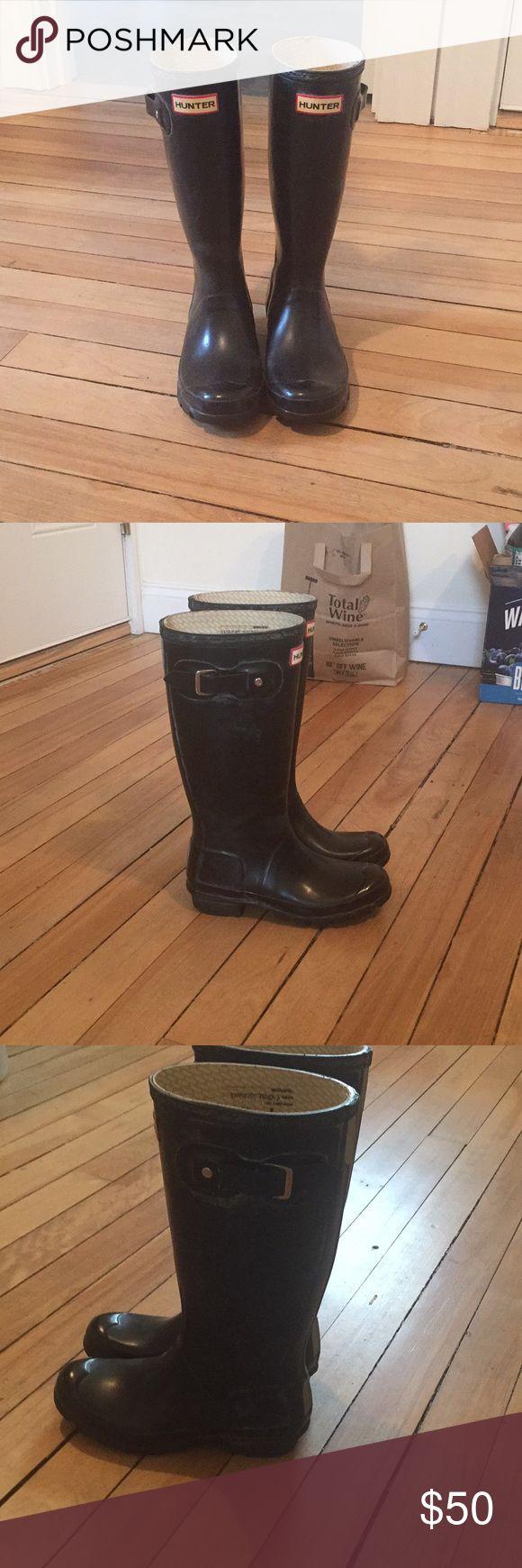 kids hunter rain boots Black big kid hunter rain boots. Hunter Boots Shoes Winter & Rain Boots