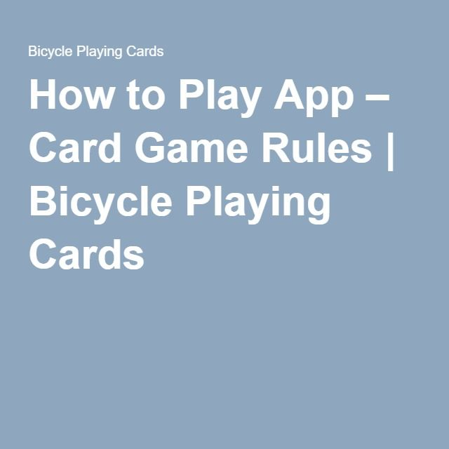 how to play rummy with cards