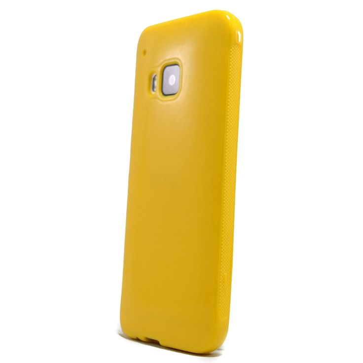 Mobilce | HTC ONE M9 TPU SARI Mobilce | Cep Telefonu Kılıfı ve Aksesuarları