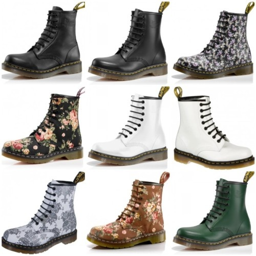 Dr. Martens Classic Ladies Leather Boots