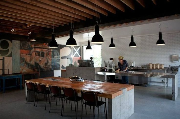 """Deus ex Machina is Venice's Hippest New """"Machine"""" Shop Plus Cafe Serving Handsome Coffee - Eater LA"""