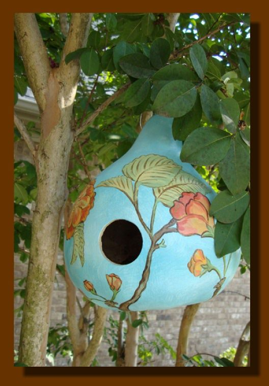 Creative Gourds - Bird Houses