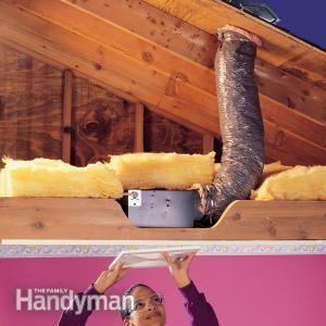 How to Install a Quiet Bathroom Fan - Summary | The Family Handyman