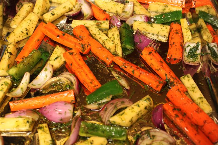 amazing roast vegetables