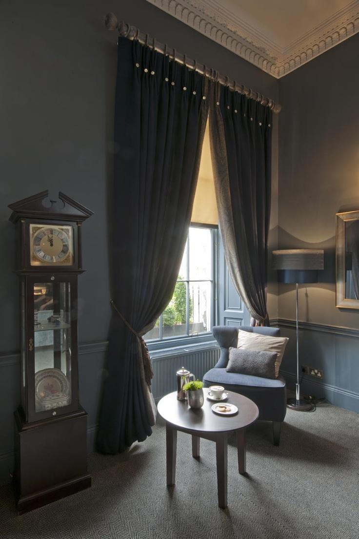 The Roxburghe Hotel Edinburgh A Listed Georgian Building With Stylish Grey Interior By