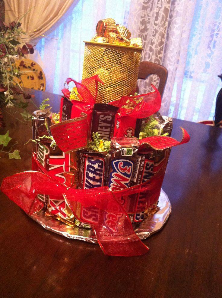 My Mom Made This Candy Bar Cake Raffle Basket D Raffle