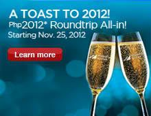 Book your domestic trip for PHP2012 roundtrip via Philippine Airlines!