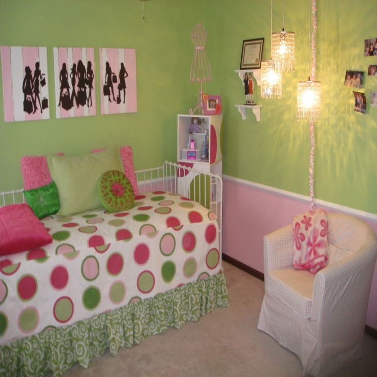 Elegant Pink And Lime Green Bedroom   Storage Ideas For Small Bedrooms Check More  At Http: