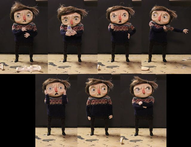But Milk is Important: Making of the Puppet: Face replacements