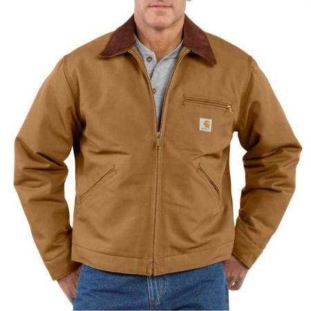 Carhartt J001  Carhartt Detroit Duck Jacket - Blanket Lined