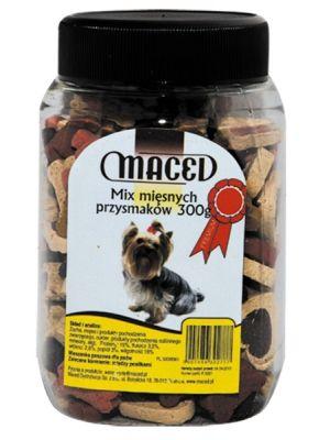 MACED mix mięsnych przysmaków 300g  • zawartość 300 g • urozmaicony skład • wspaniała nagroda • wyśmienity dodatek do codziennej diety