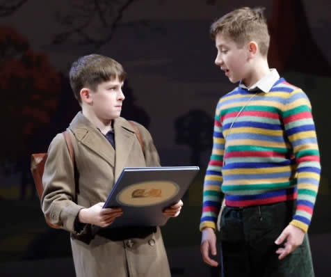 goodnight mr tom production shot william and zach phoenix  goodnight mr tom production shot william and zach phoenix theatre