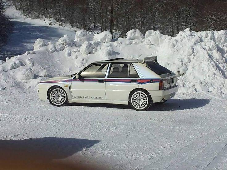 Lancia Delta Integrale HF Evo Martini 6 Version Vs. Snow
