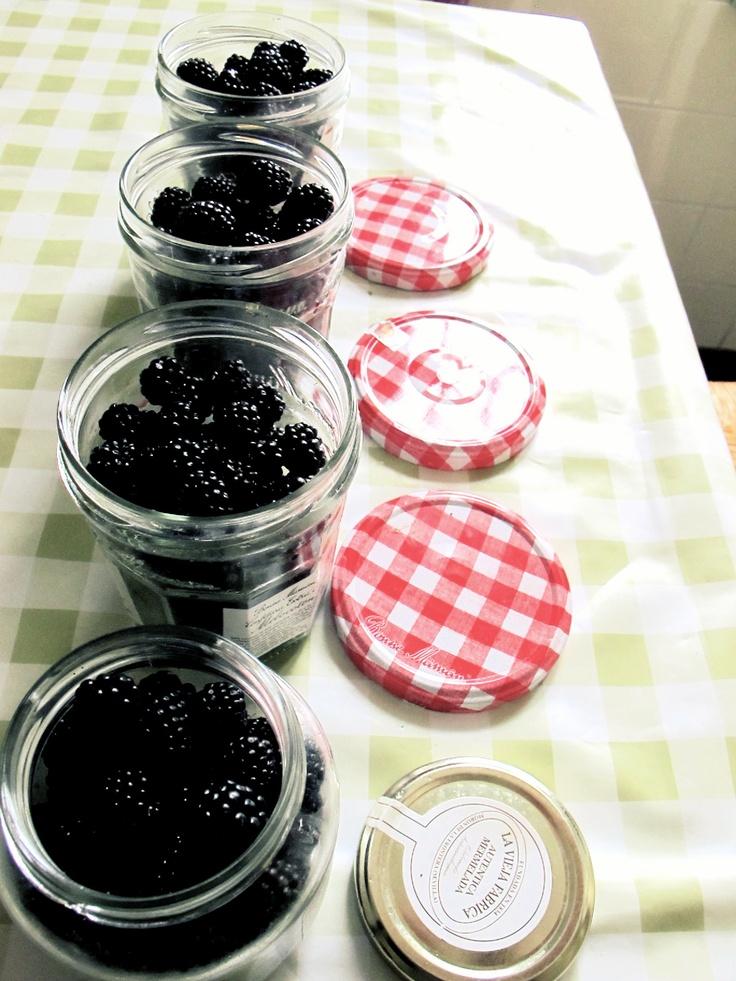 blackberry jam must do!