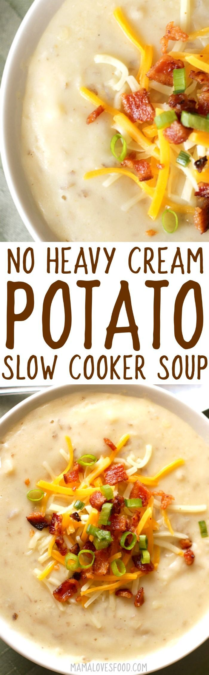 NO CREAM - NO GLUTEN --- this came out AMAZING!!!    crock pot baked potato soup
