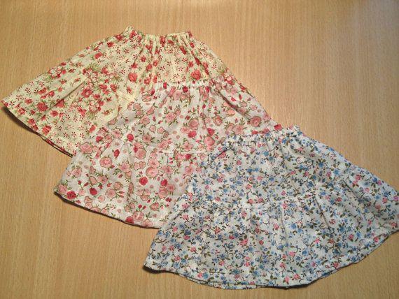 Spring Skirts MSD BJD by ShirayasWardrobe on Etsy