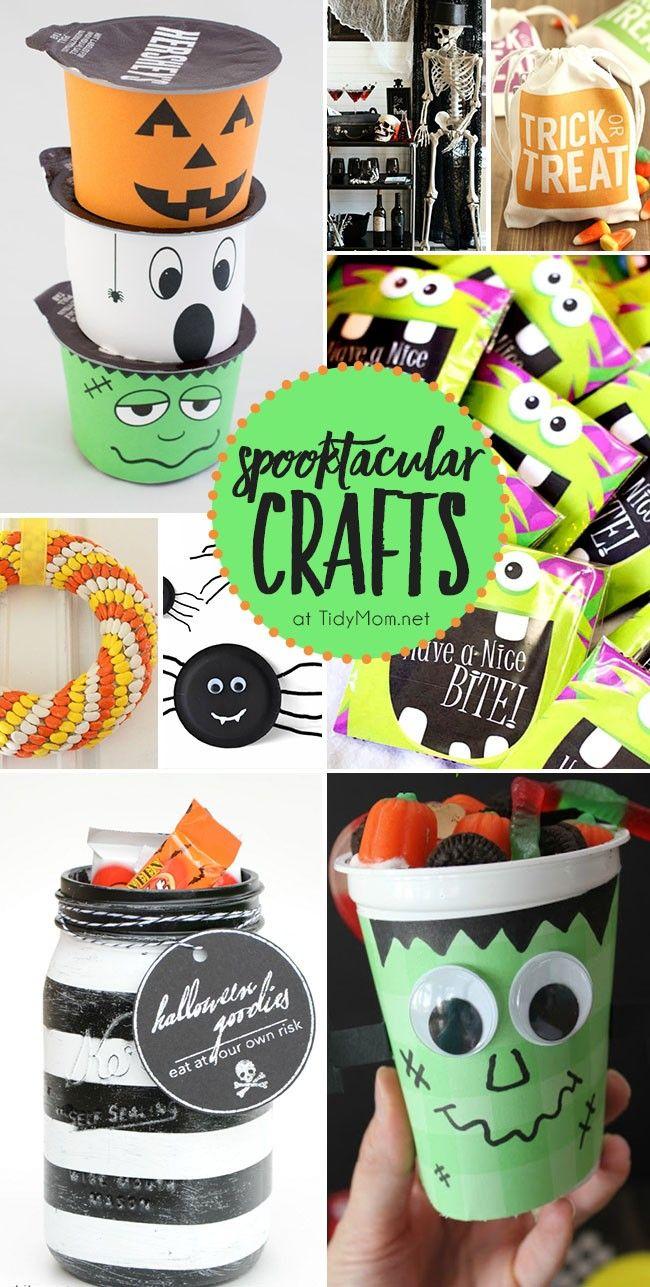 spooktacular halloween crafts - Scary Halloween Crafts