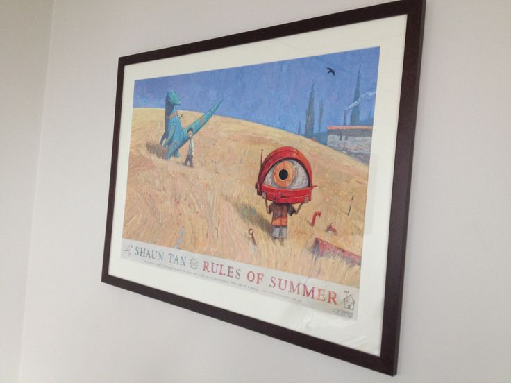 A new addition to the Hachette Australia office walls