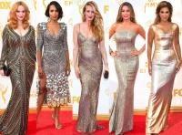 Metallics έντονο ροζ και γυμνοί ώμοι από τις πιο έντονες τάσεις της μόδας στα βραβεία Emmy!