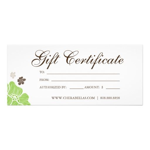 20 best business images on pinterest health bb and cards gift certificates salon tropical flower lime green yelopaper Choice Image