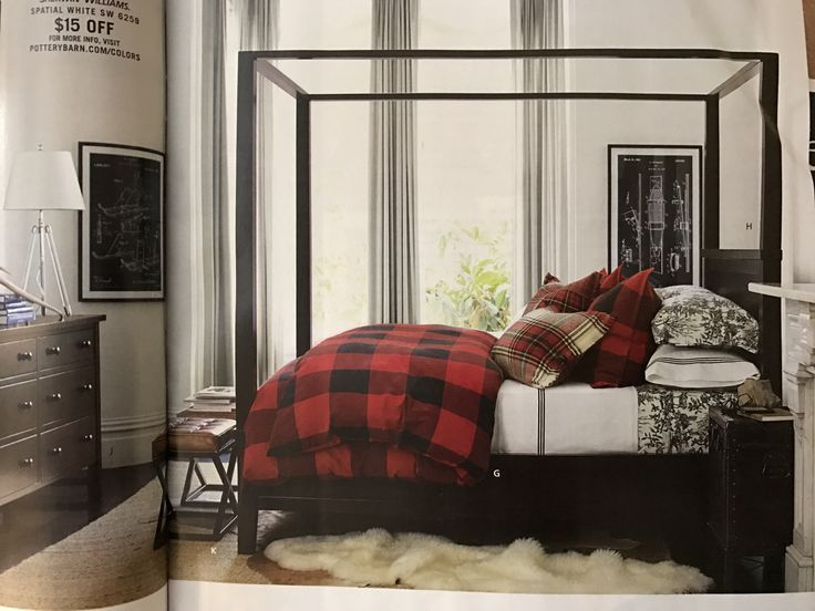 Black And White Toile Bedroom Ideas: 17 Best Ideas About Plaid Bedding On Pinterest
