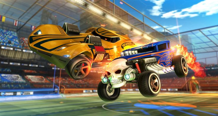 Classic Hot Wheels cars are coming to 'Rocket League'