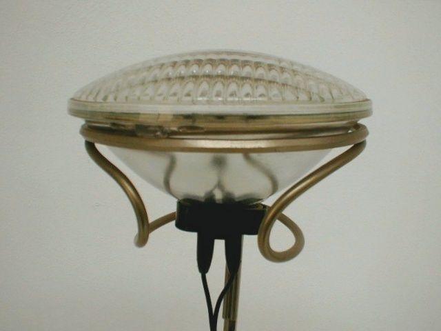 Floor lamp mod. Toio, des. Achille Castiglioni for Flos, 1962, height-adjustable