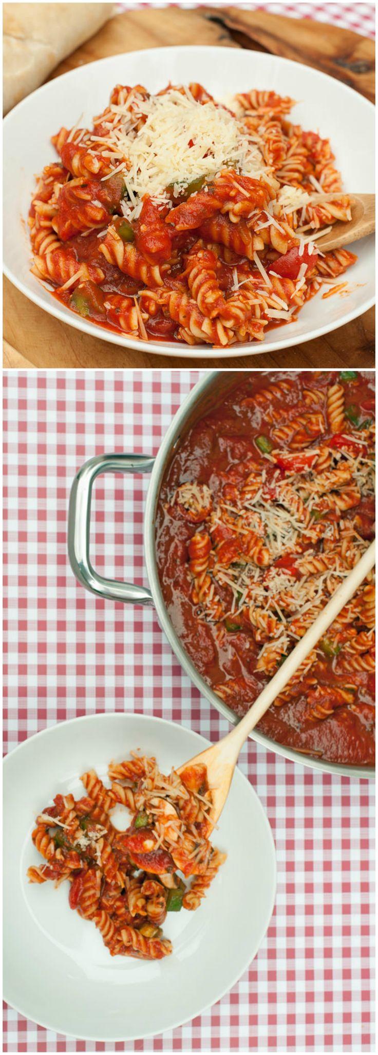 108 best One Pot Pasta Recipes images on Pinterest | Pasta recipes ...