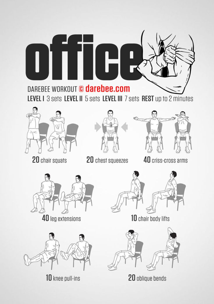 Even if work piles up in the office, you don't have to completely shove aside taking care of your fitness. This quick workout from DAREBEE can…
