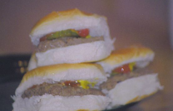 Make and share this White Castle Hamburgers (Copycat) recipe from Food.com.