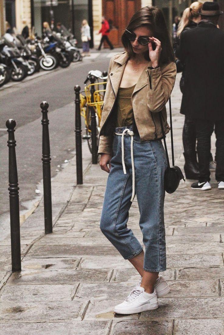 BERSHKA jacket | ZARA top | CHEAP MONDAY jeans | NIKE shoes | PRIMARK shoes | JACUZZI sunnies.