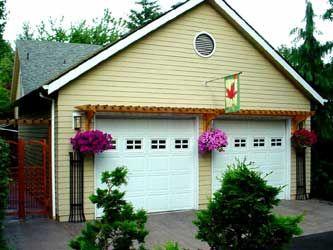 22 best Garage Door Trellis or Arbors images on Pinterest