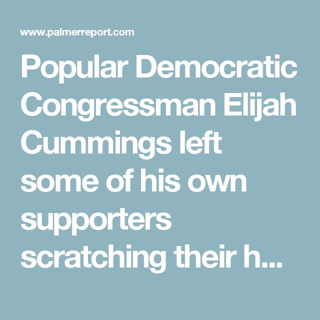 Popular Democratic Congressman Elijah Cummings left some of his own supporters scratching their heads today when he announced on CNN that he's been briefed on classified information that's so dire, members of the public would fully understand why so many Congressmen are boycotting Donald Trump's inauguration if they also knew the information. Some saw it as taunting; I know something you don't know. But Cummings is employing a specific political strategy here, aimed at getting that…
