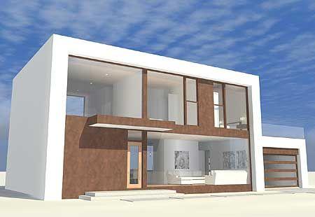 Plan 44104td Compact Modern Home Plan Compact Basements And Modern