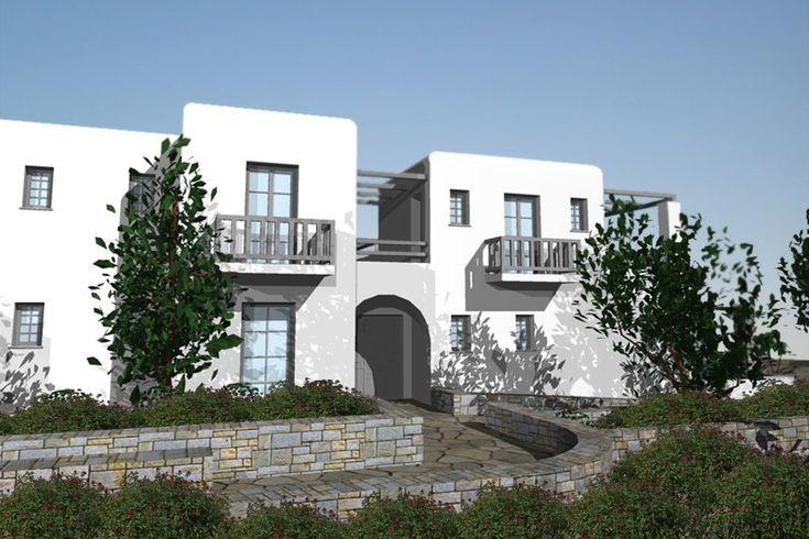 Διώροφη εξοχική κατοικία στην Πάρο   vasdekis