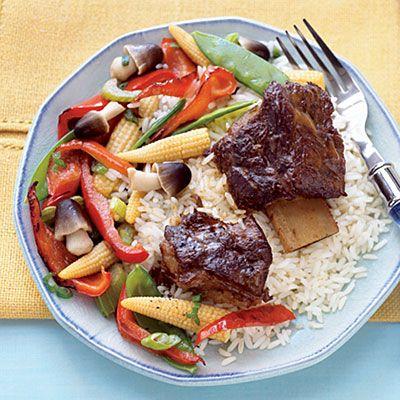 Slow Cooker Chinese Short Ribs recipe #CrockPot