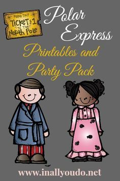 {free} Polar Express Printables and Party Ideas - In All You Do