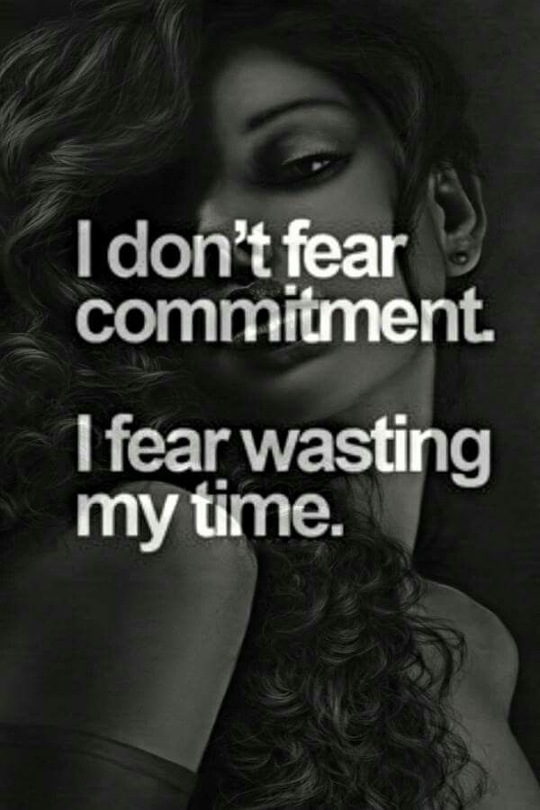 Dating fear of commitment